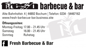 Fresh Barbecue & Bar