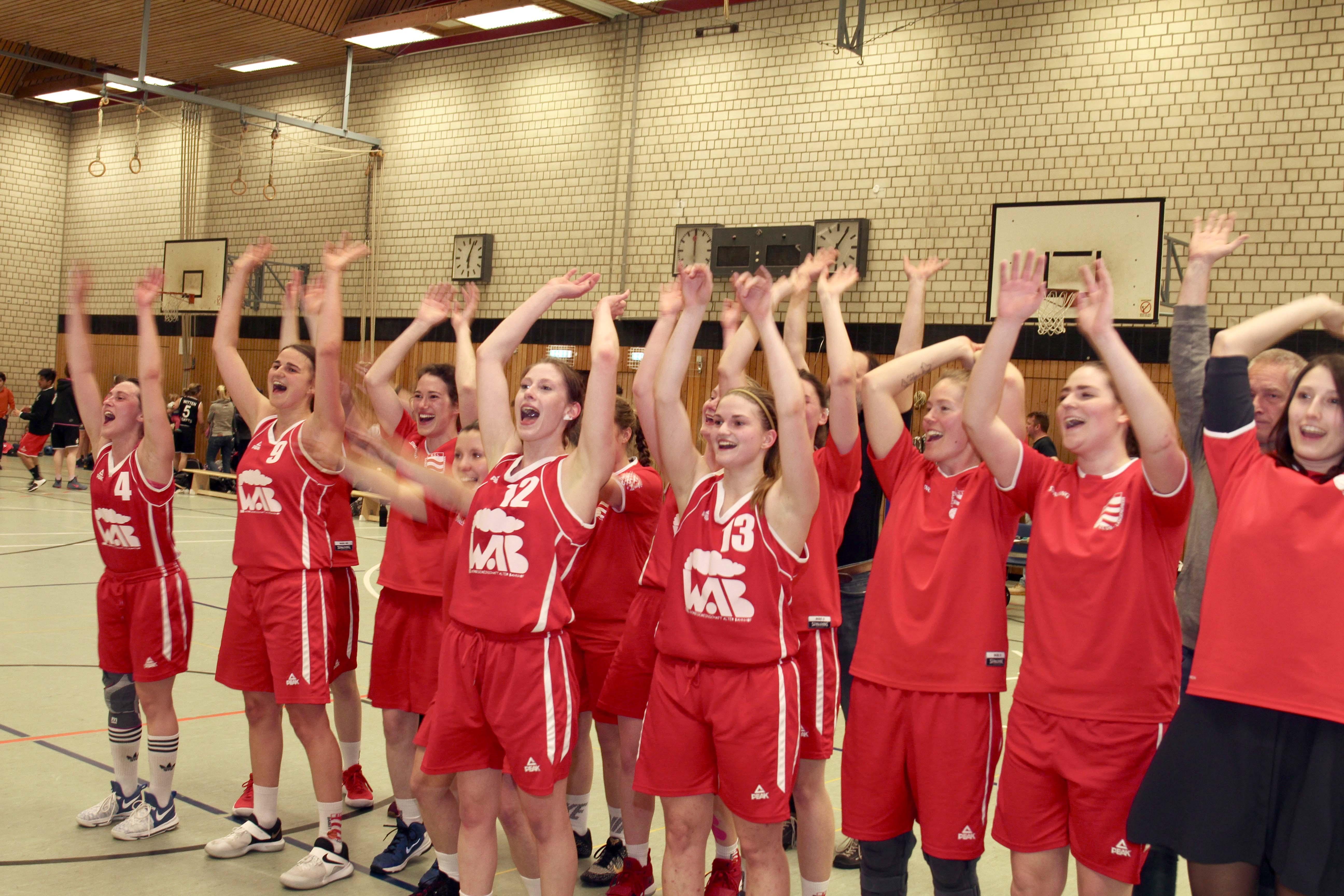 BCL Damen feiern die Meisterschaft mit einem 61:55 gegen die Witten Baskets (11:13, 23:12, 18:12, 9:18)
