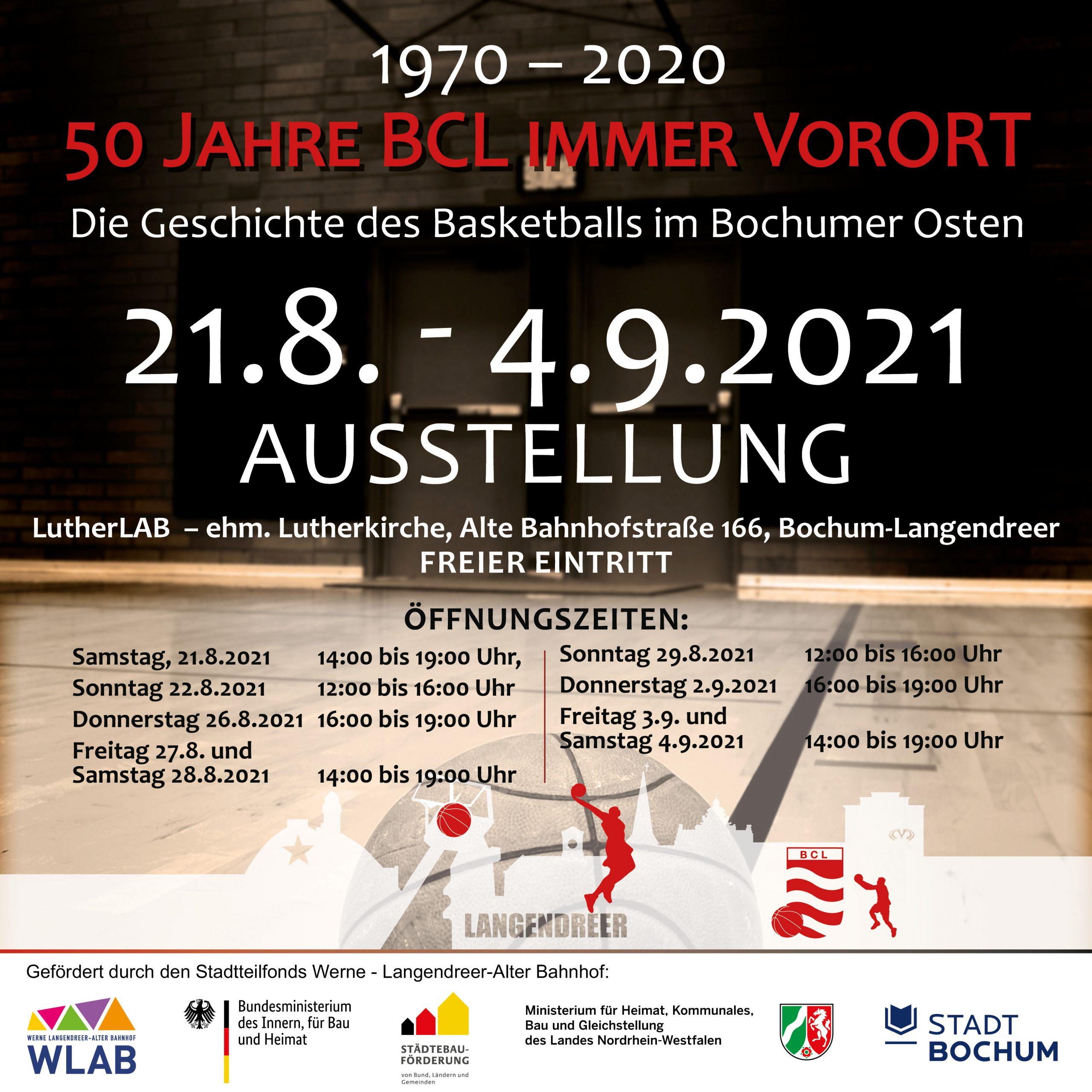 Ausstellung 50 Jahre BCL immer VorORT