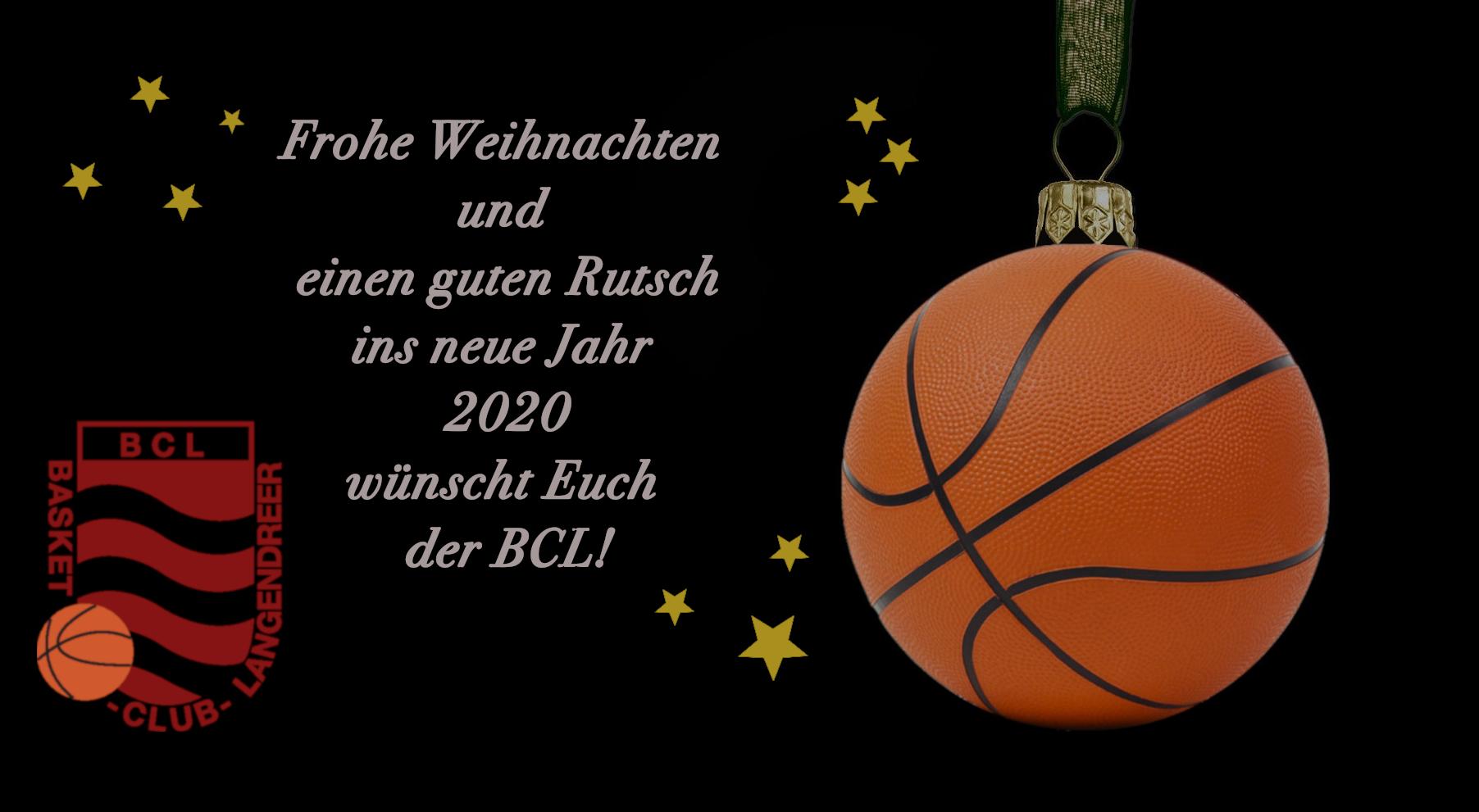 Frohe Weihnachten und einen guten Rutsch in neue Jahr 2020!