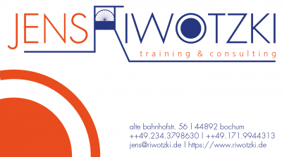 jens riwotzki | training & consulting